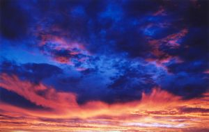 Cobalt Sunset