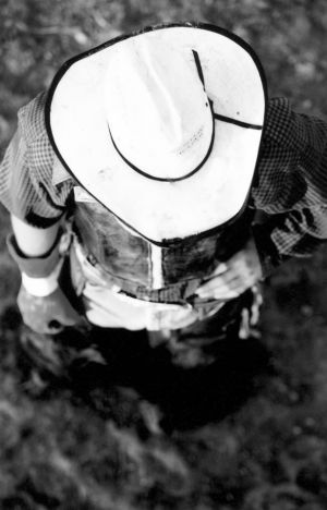 Cowboy in White Hat