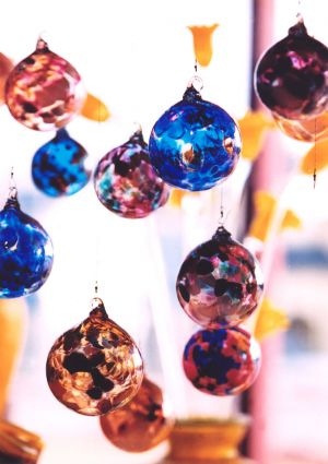 Festive Hanging Ornaments