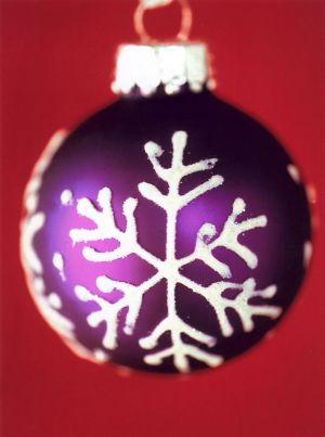 Purple Snowflake II